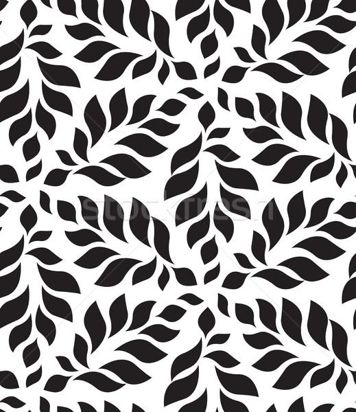 вектора геометрический современных цветочный листьев Сток-фото © softulka