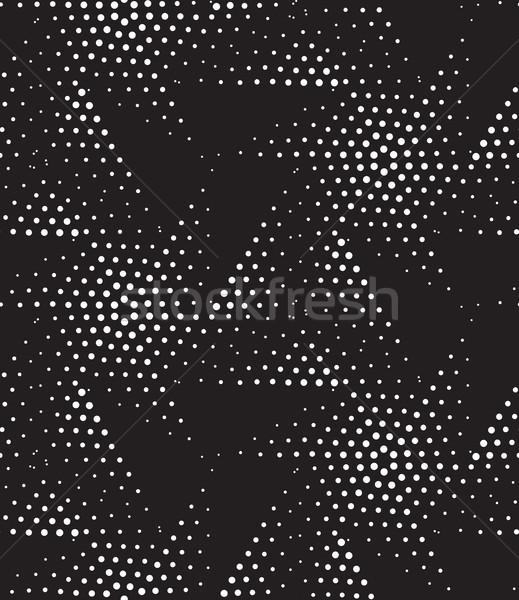 Vector geométrico resumen blanco negro Foto stock © softulka
