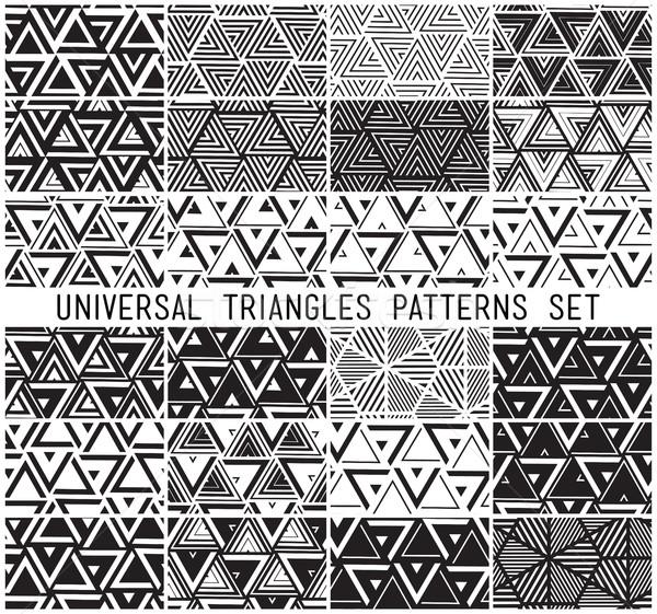 Foto stock: Conjunto · universal · vetor · geométrico