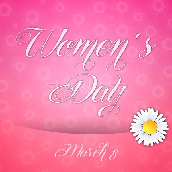 Women's Day Stock photo © sognolucido