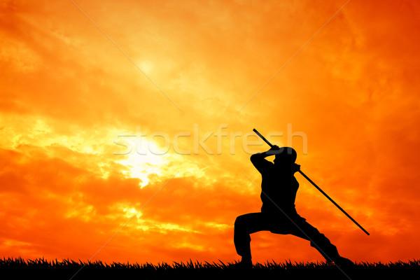 Shaolin Stock photo © sognolucido