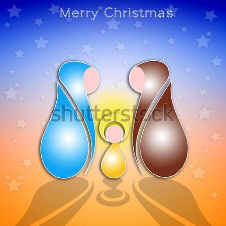 Nativity scene Stock photo © sognolucido