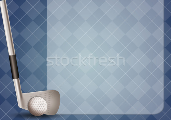 ストックフォト: ゴルフ · 実例 · クラブ · スポーツ · 楽しい · カップ