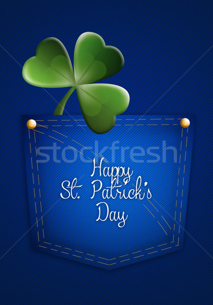 Happy St. Patrick's Day Stock photo © sognolucido