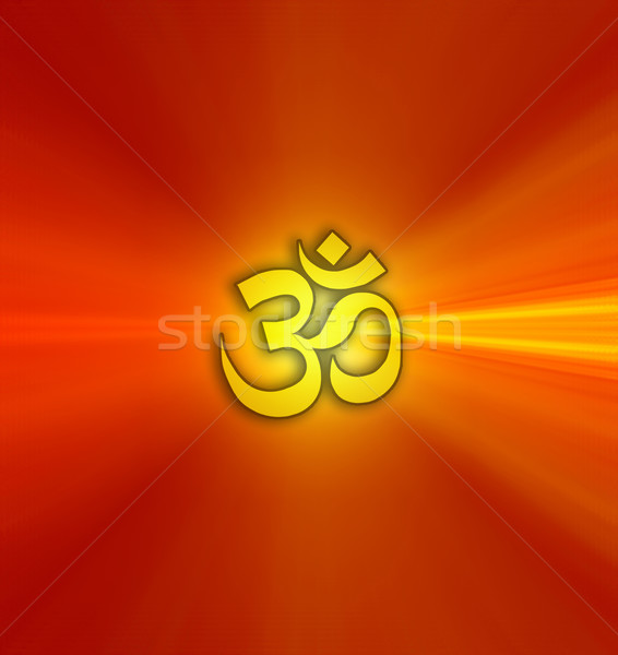 Om symbol Stock photo © sognolucido