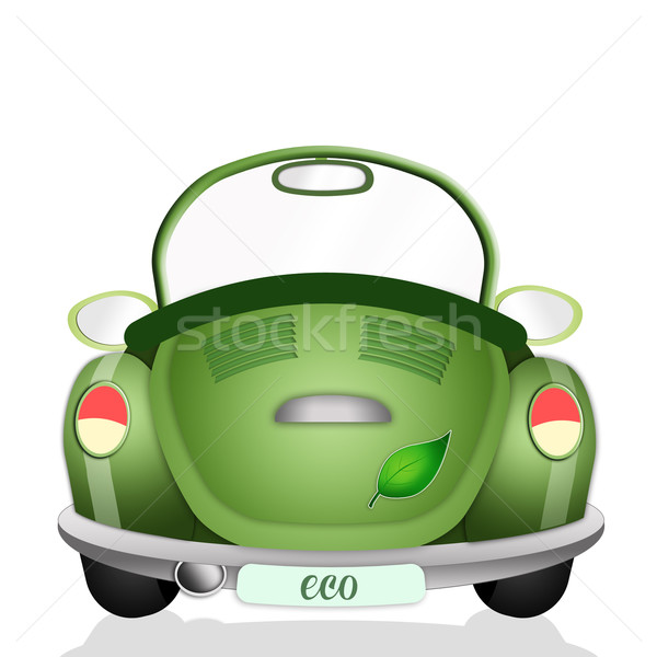 Ecological car Stock photo © sognolucido