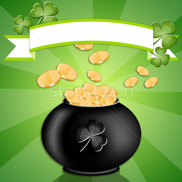 Good luck in St. Patrick's Day Stock photo © sognolucido