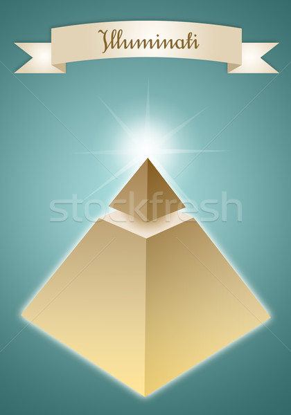 Pyramid of Enlightened  Stock photo © sognolucido