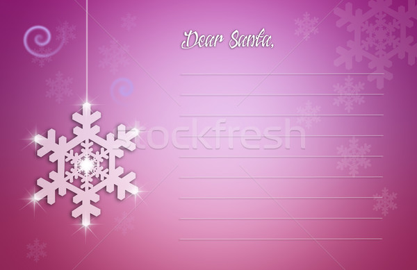 手紙 サンタクロース 実例 クリスマス 休日 を祝う ストックフォト © sognolucido