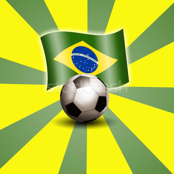 サッカー 世界 カップ ブラジル 実例 スポーツ ストックフォト © sognolucido