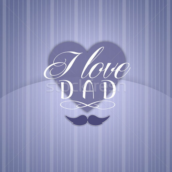 Happy Father's Day Stock photo © sognolucido