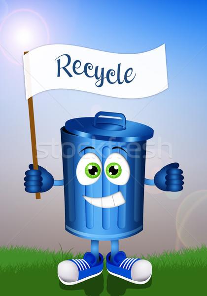 ストックフォト: ごみ · リサイクル · 実例 · 面白い · リサイクル