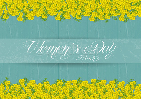 Женский день иллюстрация цветок женщину празднования Сток-фото © sognolucido