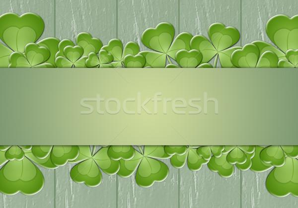 緑 楽しい 休日 アイルランド クローバー を祝う ストックフォト © sognolucido