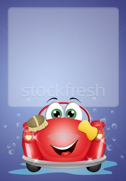 車 洗濯 実例 面白い 洗車 水 ストックフォト © sognolucido