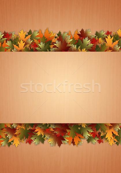 秋 実例 紅葉 休日 秋 お祝い ストックフォト © sognolucido