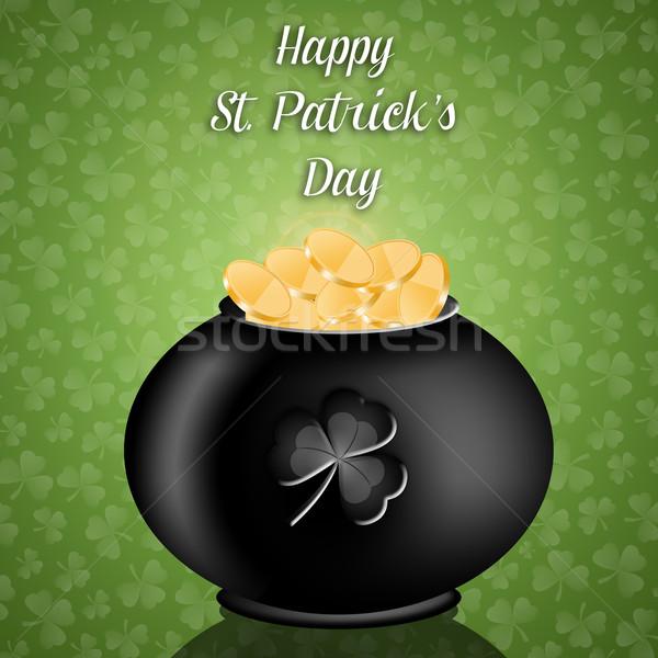 Happy St. Patrick's Day Stock photo © sognolucido