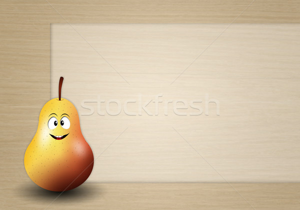 Funny pear Stock photo © sognolucido