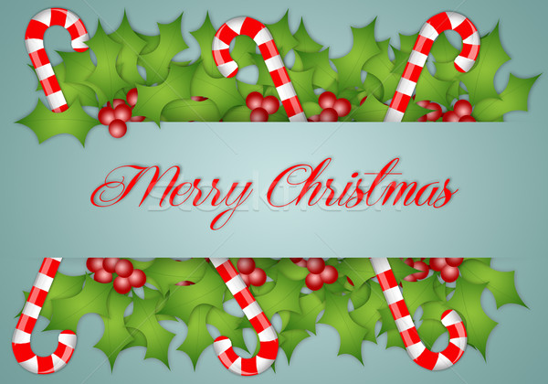 Merry Christmas Stock photo © sognolucido