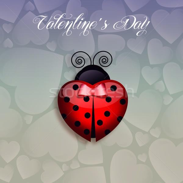 中心 バレンタインデー 愛 カード お祝い 情熱 ストックフォト © sognolucido