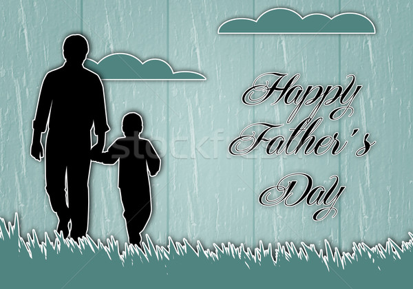 Father's Day Stock photo © sognolucido