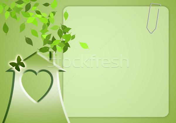 環境の 緑 ホーム 環境 世界中 デザイン ストックフォト © sognolucido