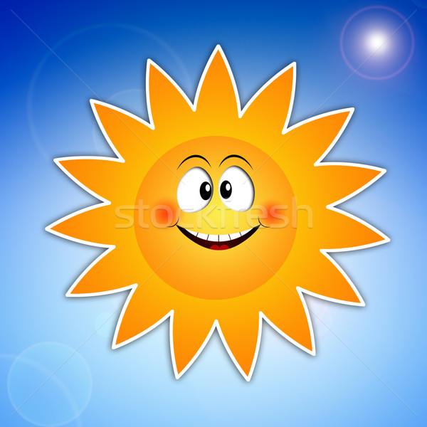 Sun for summer time Stock photo © sognolucido