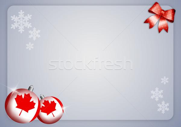 Quebec winter festival Stock photo © sognolucido