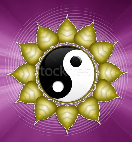 Stock photo: Yin and Yang