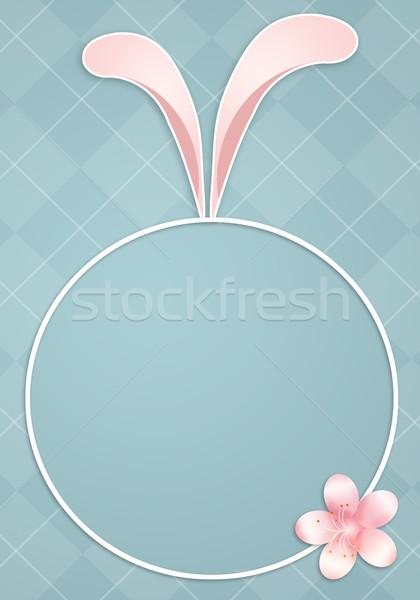 ストックフォト: ウサギ · 耳 · 実例 · イースター · 春 · 楽しい