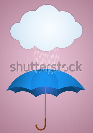 Umbrella for rainy days Stock photo © sognolucido