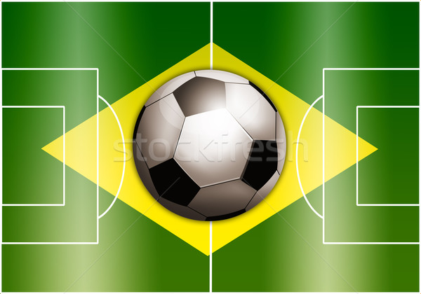 Soccer world cup in Brazil Stock photo © sognolucido