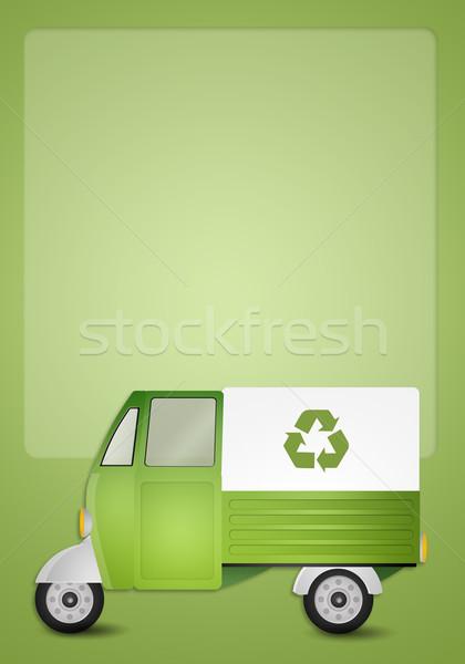 緑 ヴァン リサイクル 実例 自然 トラック ストックフォト © sognolucido