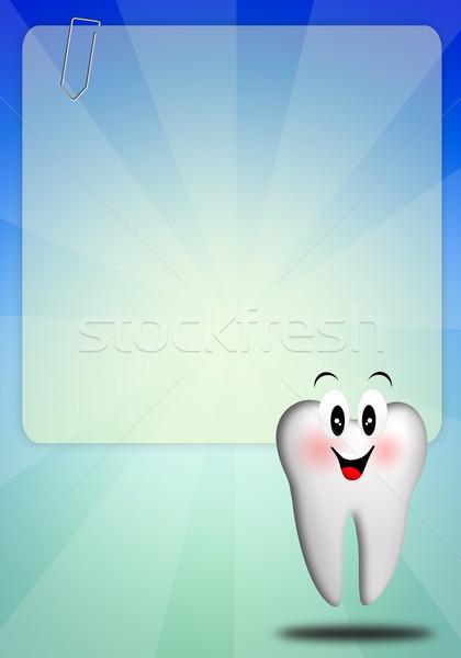 Vicces fog fogápolás orvosi gyógyszer szerszámok Stock fotó © sognolucido