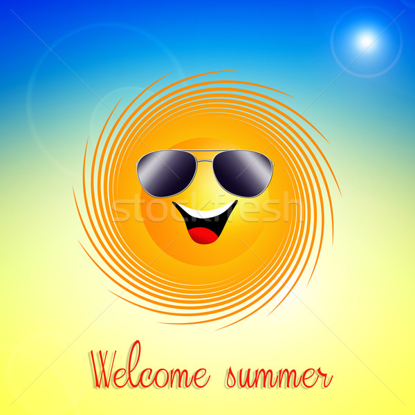 Welcome summer Stock photo © sognolucido
