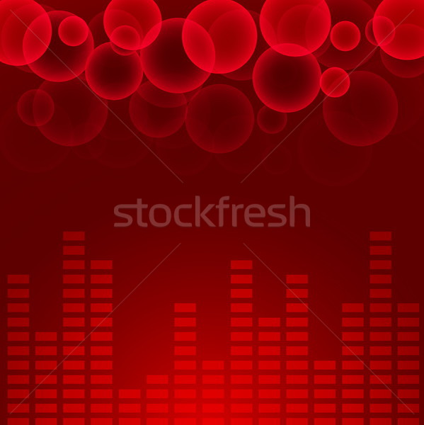 抽象的な 音楽 グラフ eps10 技術 背景 ストックフォト © SolanD