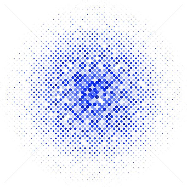 Absztrakt vektor halftone üzlet terv művészet Stock fotó © SolanD