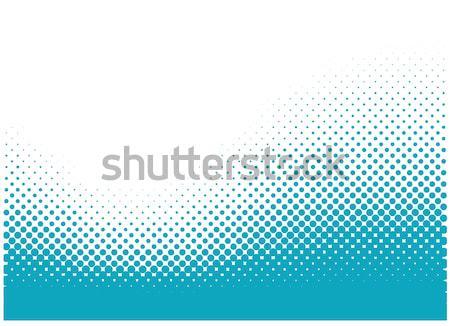 Absztrakt vektor halftone illusztráció eps8 terv Stock fotó © SolanD