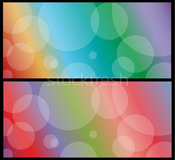 Stockfoto: Lichten · eps10 · textuur · ontwerp · achtergrond · disco