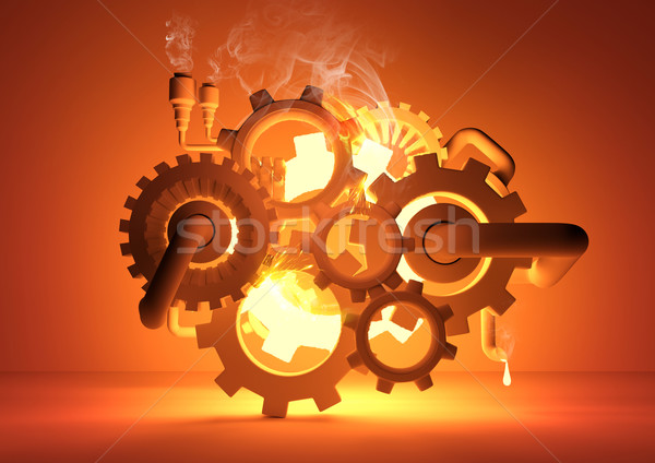 Stock photo: Gears of Industry