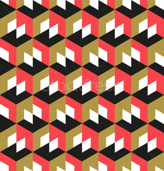 Senza soluzione di continuità disegno geometrico abstract geometrica design texture Foto d'archivio © solarseven