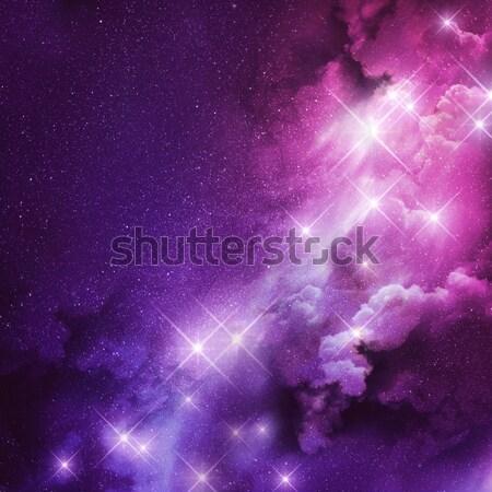 Pink and Purple Nebula Stock photo © solarseven