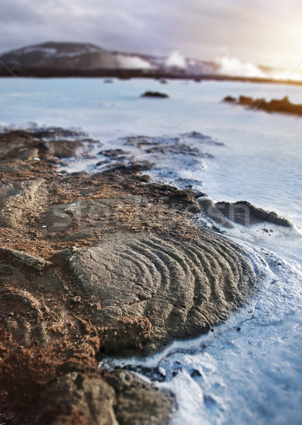 Geothermal Landscape, Iceland Stock photo © solarseven