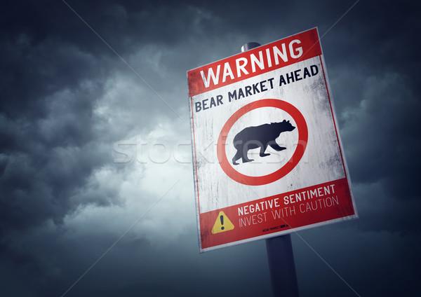Bear Stock Market Stock photo © solarseven