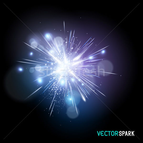 Vector Spark Effect Stock photo © solarseven