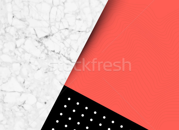 Abstract Shapes and Textures Background Stock photo © solarseven