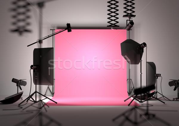 Photography Studio Background Stock photo © solarseven