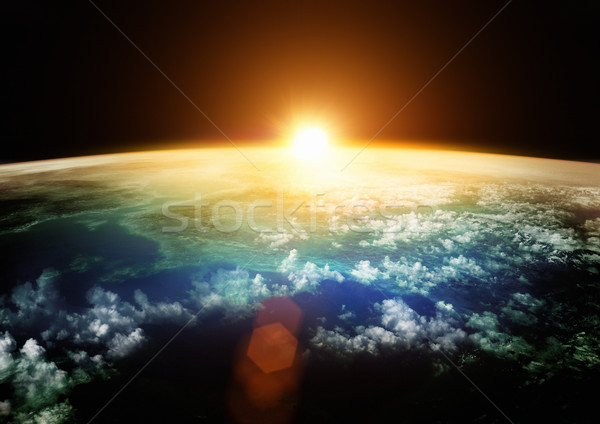 Earth - Beautiful Horizons Stock photo © solarseven