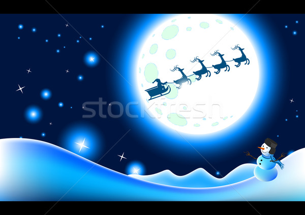 White Christmas Stock photo © solarseven