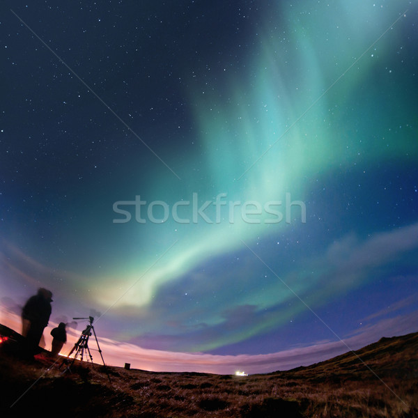 Stock photo: Northern Lights (Aurora Borealis)